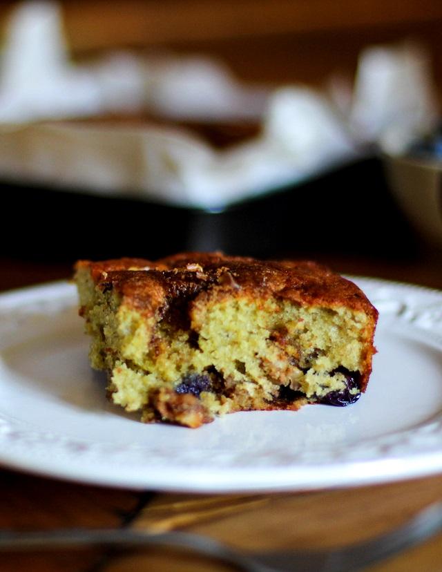 Gluten Free Blueberry Yogurt Coffee Cake