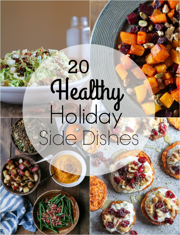 20 Healthy Holiday Side Dishes for a nutritious feast | TheRoastedRoot.net #glutenfree #vegan #vegetarian #paleo #primal